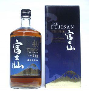 ウイスキー 富士山 箱入